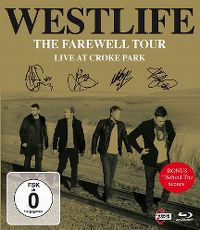 Cover Westlife - The Farewell Tour - Live At Croke Park [DVD]